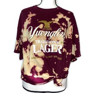 Yuenling Lager Brewery Beer T-Shirt Bleached
